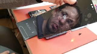 Mi8 lite Xiaomi. Byudjet, kuchli va arzon ta'mirlash uchun. Almashtirish ko'rsatish