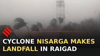 Watch: Cyclone Nisarga makes landfall in Raigad, Maharashtra