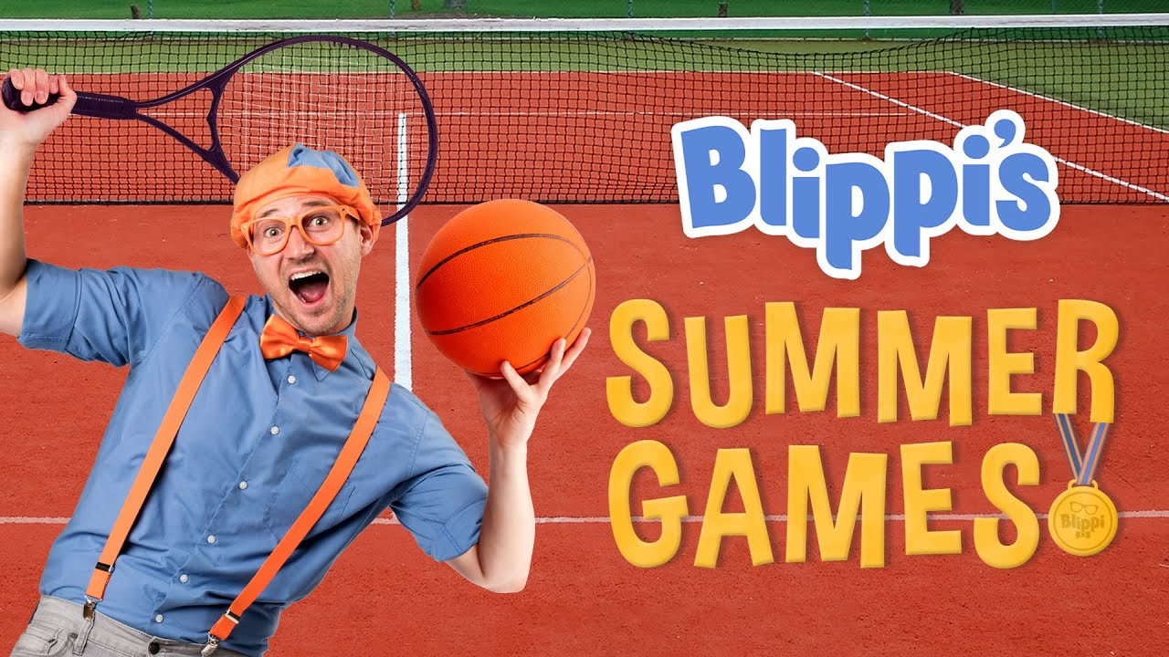 Blippi's Sports Summer Games Movie | Kids Movies | Educational Videos For Kids