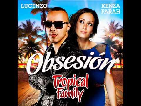 Kenza Farah et Lucenzo {Tropical Family}   Obsesion