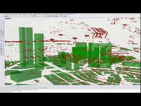Elk - 3D buildings from Open Street Map data (OSM)