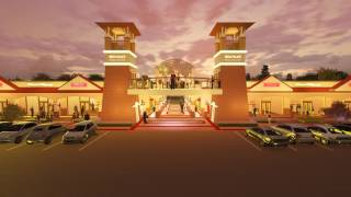 3D Animation--Mega Palace Wedding Center