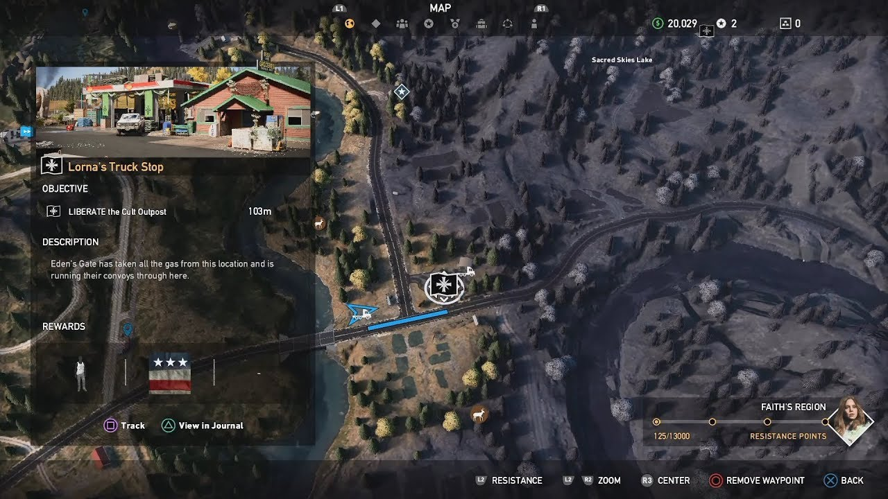 Far Cry 5 Henbane River Outpost Lorna Truck Stop Youtube