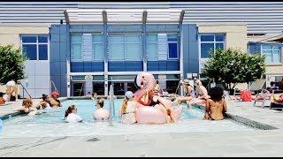 Poolside Pure nudism
