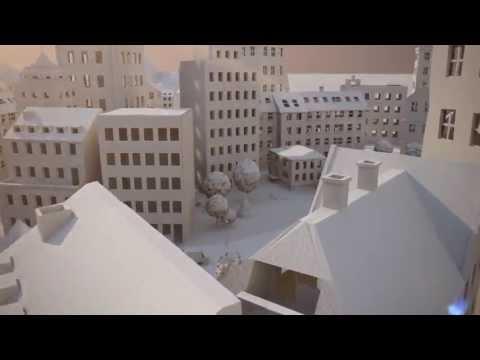 Как сделать город из бумаги своими руками