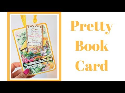 How to make a Book Card | Video Tutorial