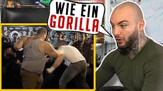 RUSSISCHER 200KG GORILLA! Brutaler Knockout! RINGLIFE reaction
