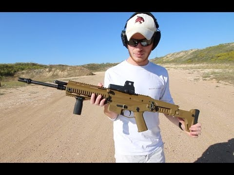 First Time Shooting My Bushmaster ACR - I Love It!