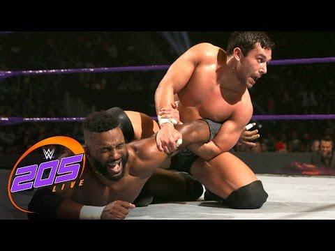 Cedric Alexander vs. Noam Dar: WWE 205 Live, Dec. 6, 2016