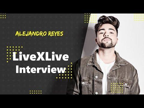 Alejandro Reyes - LiveXLive Interview