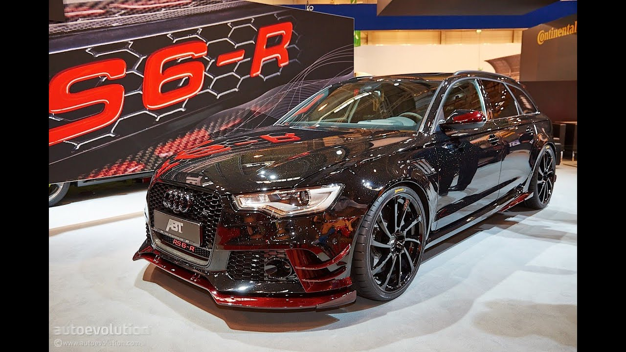 Audi Rs6 R By Abt 2014 Essen Motor Show Live Photos