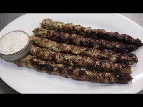How To Make Greek Lamb Kofta Kebabs