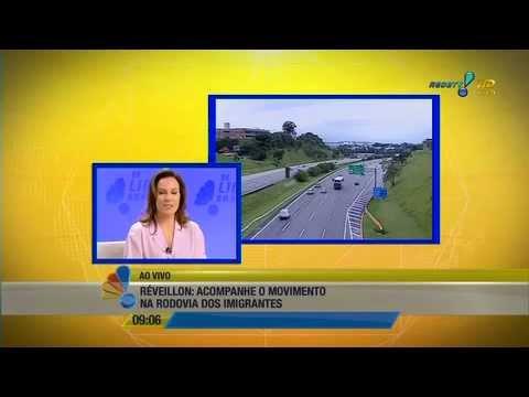 RedeTV! Se Liga Brasil: Réveillon- Acompanhe o movimento na Rodovia dos imigrantes