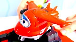 Развивающее видео - Игрушки и Суперкрылья Джет