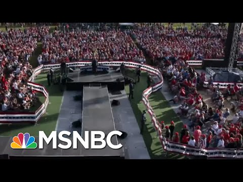 Some Sites Of Irresponsible Trump Rallies See Subsequent Covid Spike | Rachel Maddow | MSNBC