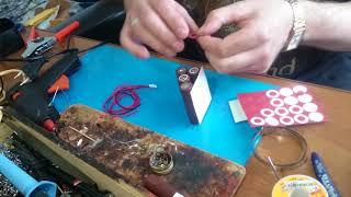 Қайта жасау батарея қытай шуруповерта 14,4 вольта с никель, литий