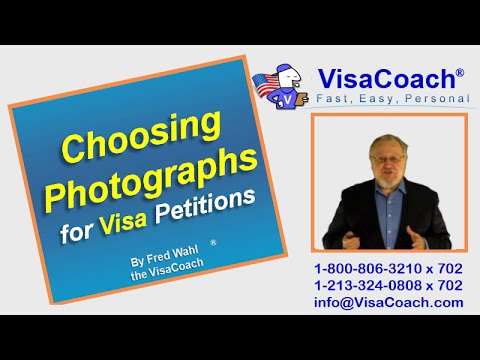 Choosing Photographs for Fiancee K-1 or Spousal CR-1, I-129F or I-130 Visa Petitions
