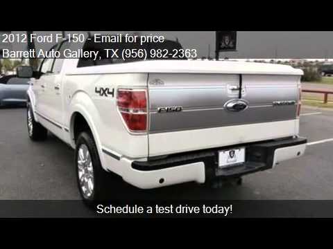 2012 ford f 150 platinum for sale in brownsville tx 78526 a youtube. Black Bedroom Furniture Sets. Home Design Ideas