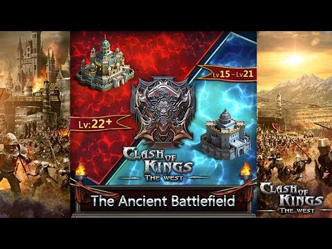 NEW ANCIENT BATTLEFIELD SKILLS ACTION!! - CLASH OF KINGS: THE WEST