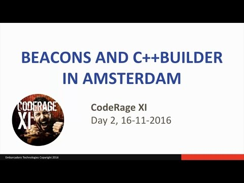 Beacons and Delphi in Amsterdam (C++) with Paweł Głowacki - CodeRage XI