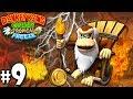 Donkey Kong Country Tropical Freeze Co-Op Brushfire Twist PART 9 Wii U HD Gameplay Walkthrough Coop