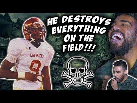 The *HARDEST HITTING* Safety In High School!!!- Kenyatta Brown Highlights [Reaction]