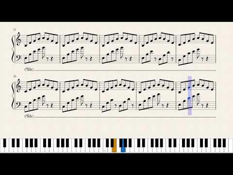 Stranger Things (Main Theme) - Piano