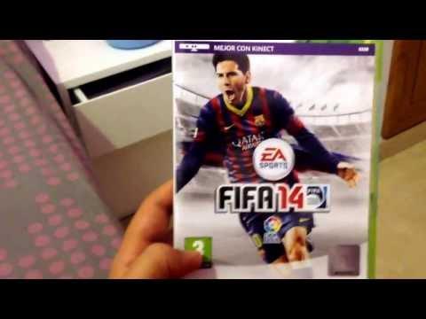 Unboxing FIFA 2014 y críticas al pro evolution 2014