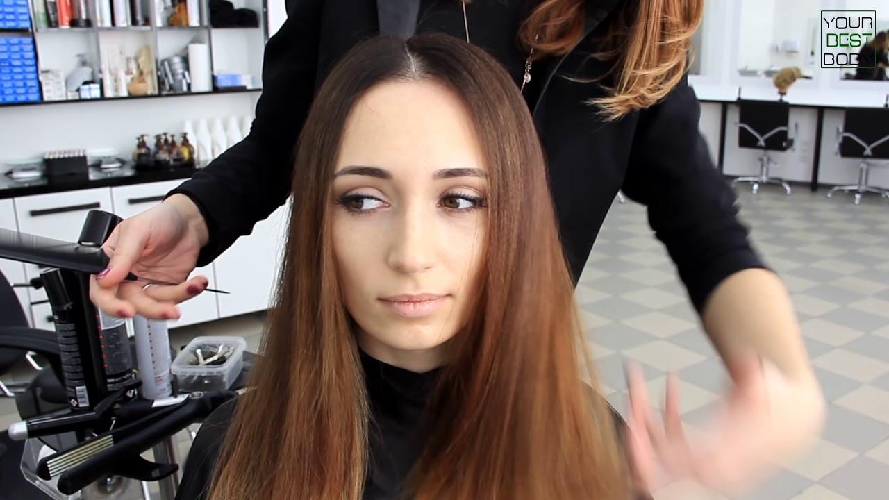 Как уложить волосы и сделать объем