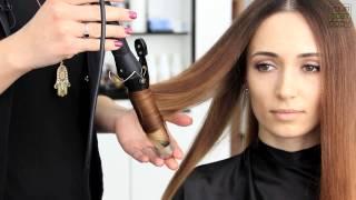Супер объем у корней. Шикарные локоны. Укладка волос за 5 минут / Voluminous Hair | YourBestBlog