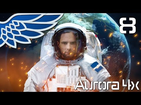 AURORA 4X   Jump Point Contacts! Part 8 - Aurora 4x Let's Play Tutorial Gameplay