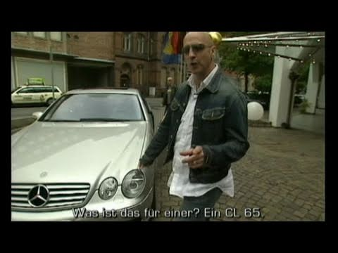 Right Said Fred im Mercedes CL 65 AMG