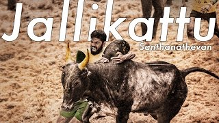 Download Jallikattu - Santhanathevan | Official Lyric  | Yuvan Shankar Raja | Ameer | Arya | Vairamuthu MP3 song and Music Video