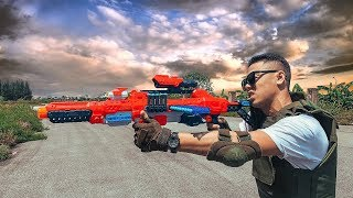 MK Nerf War: Special Police SEAL X Warrior Skill Nerf Guns Destroys The Criminal Boss Mission