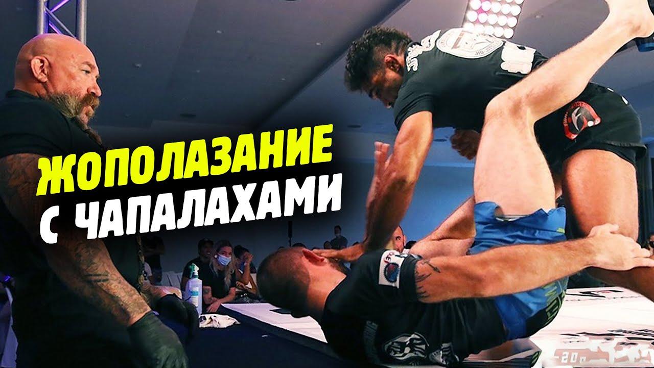 ГРЭППЛИНГ С УДАРАМИ ПО ЛИЦУ😂 Combat jiu-jitsu - чё придумал Эдди Браво?! Обзор от Яниса