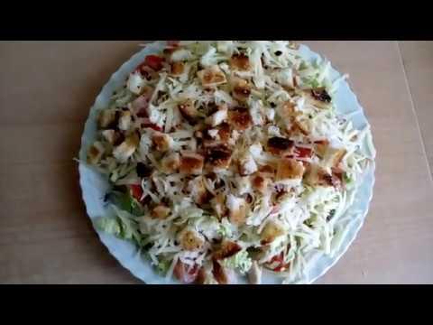 Салат с китайской капустой и помидорами черри