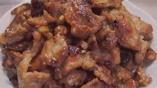 [Bún chả Hà Nội] Phần 1: Nướng thịt bằng chảo chống dính sạch bong kin kít