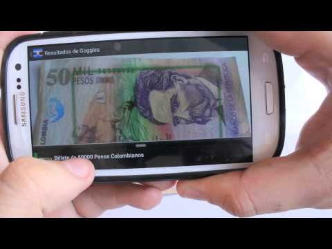 Android Smartphone Money Reading App For Blind And Visually Impaired