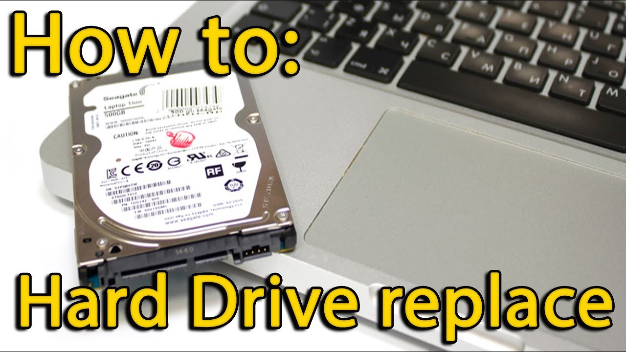 How To Install Ssd In Toshiba Satellite C55 Hard Drive Replacement Youtube