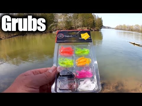 Beginner Fishing Lures! How To Fish With A Twister Tail Grub (Easy)