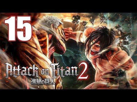Attack on Titan 2 - Gameplay Walkthrough Part 15: Female Titan