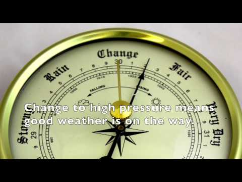 Barometers to Predict Weather