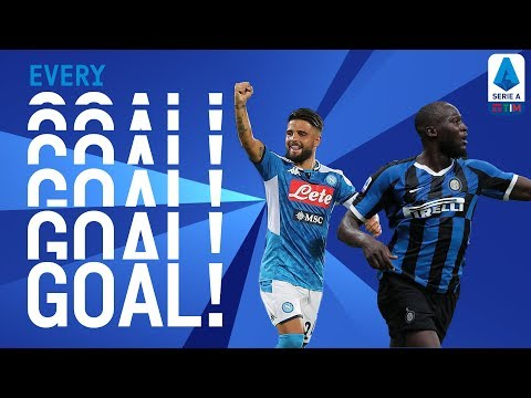 Insigne's Double & Lukaku's Debut | EVERY Goal R1 | Serie A