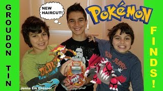 Pokemon TCG Groudon EX Tin! Jenna Em Channel
