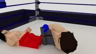 WWE Shinsuke Nakamura vs Aj Styles Lego Animación
