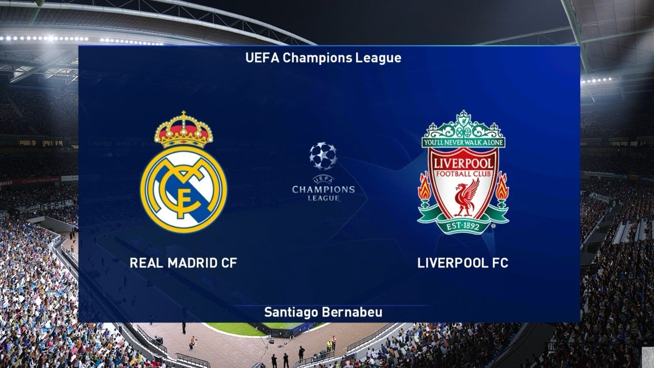 Real Madrid vs Liverpool | UEFA Champions League UCL | PES 2021 Gameplay PC  - YouTube