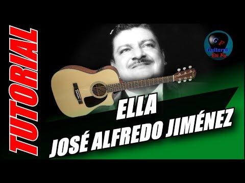Cómo tocar Ella en guitarra - José Alfredo Jiménez - (TUTORIAL) Temporada 3