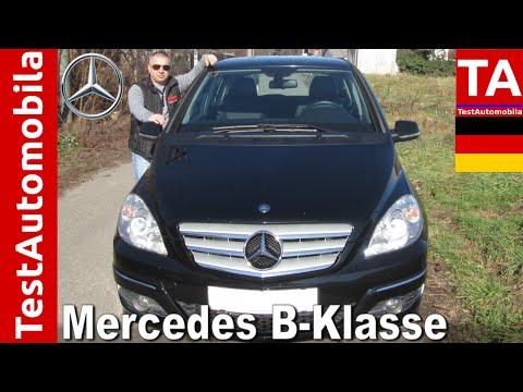 Mercedes B 180 CDI - 2009 TEST