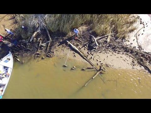 Last U.S. slave ship's remains possibly found along Gulf Coast