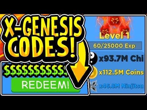 codes for ninja legends roblox 2020